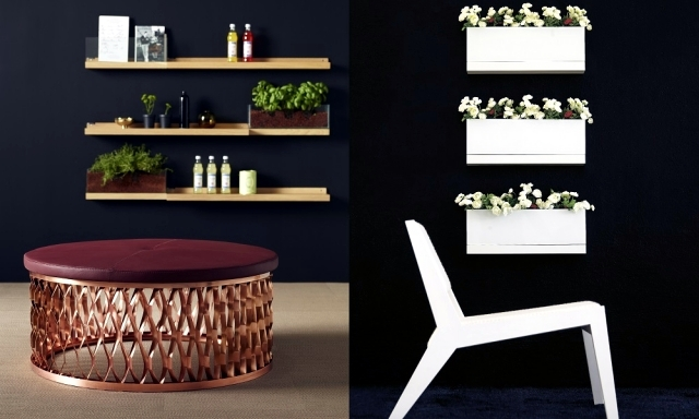 "Planter Design ""Front"" - wall or table decoration"