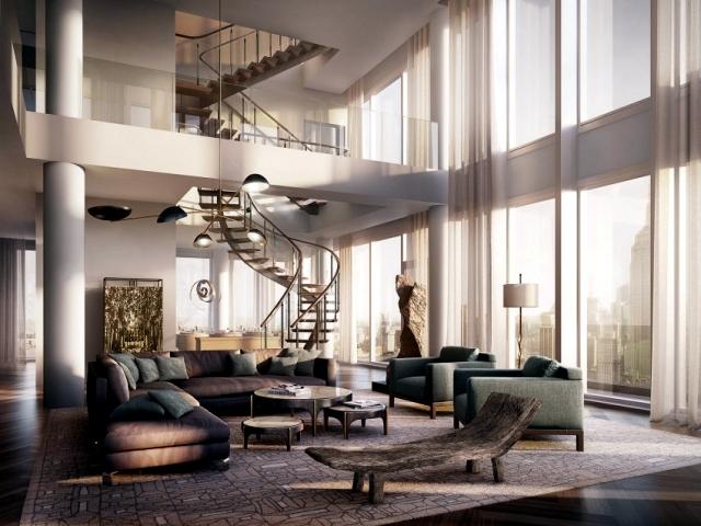 Rupert Murdoch Paid 57 Million For Four Penthouse Flats Interior Design Ideas Ofdesign