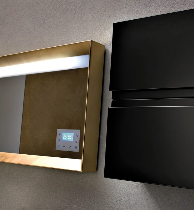 Bathroom Mirror with Light as a Functional Decoration | Interior ...