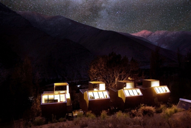 Elqui Domos in Chile Hotel - No better place for stargazing
