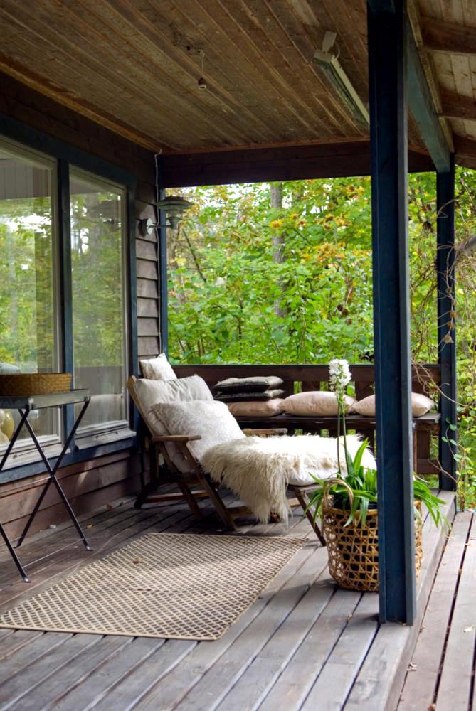 Wooden veranda with terrace interior design ideas ofdesign for Wooden veranda designs