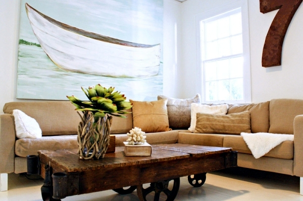 Country Style Interior Design - Modern home in Florida