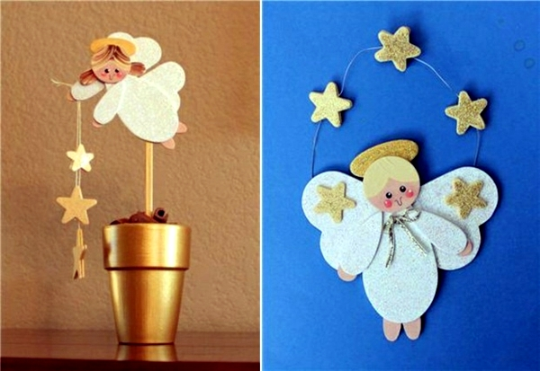 Angeles for handicraft ideas for christmas and advent for Handicraft making ideas