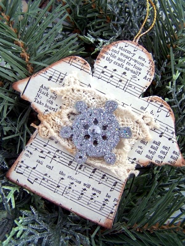 Angeles for handicraft - Ideas for Christmas and Advent Calendar