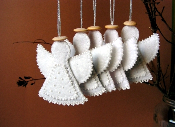 Angeles for handicraft - Ideas for Christmas and Advent Calendar