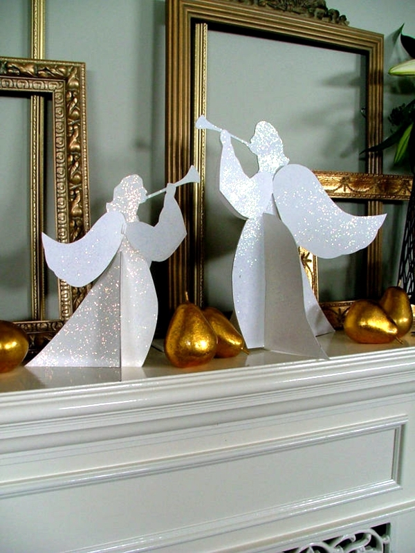Angels For Handicraft Ideas For Christmas And Advent