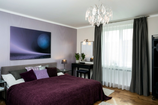 color design for bedroom - Mysterious Purple