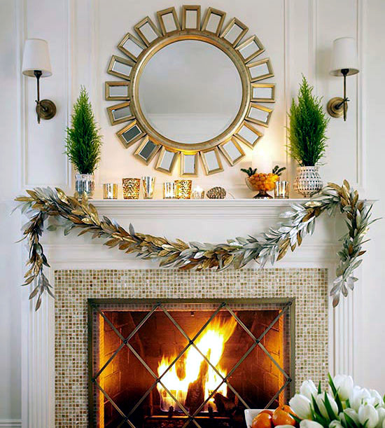 Bring Christmas lights - in the living room