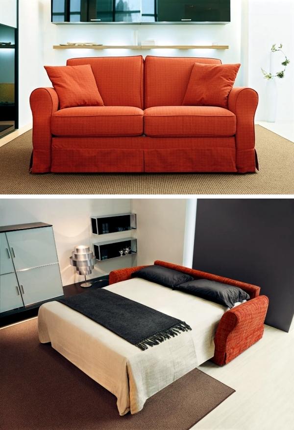 Bulky sofa bed like a good alternative to the big bed for Sofa bed alternatives