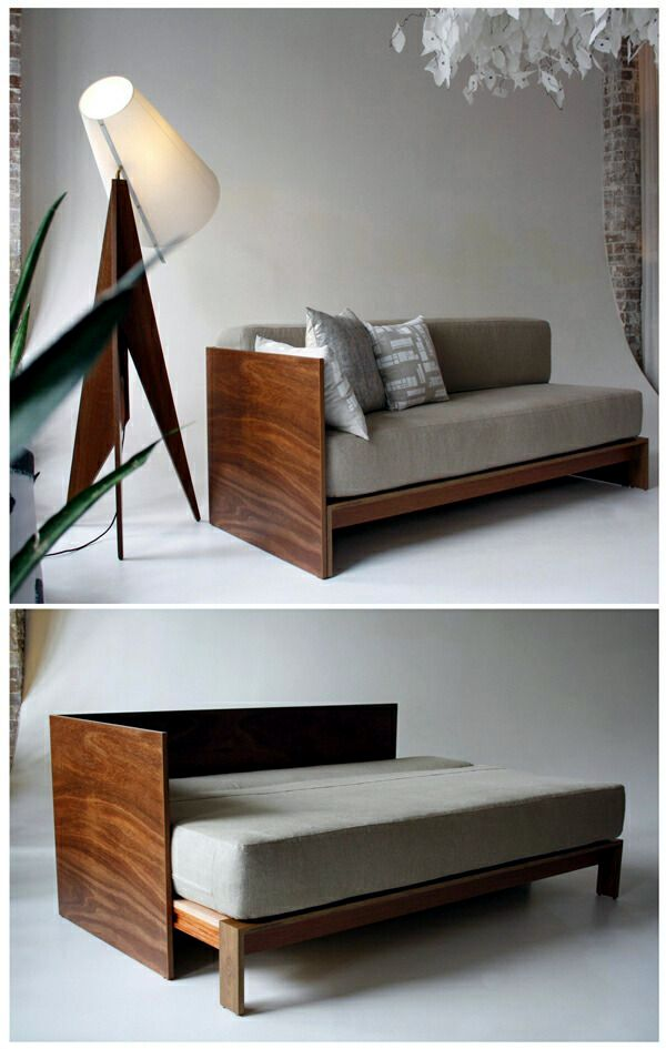 Bulky Sofa Bed Like A Good Alternative To The Big Bed Interior Design Ideas Ofdesign