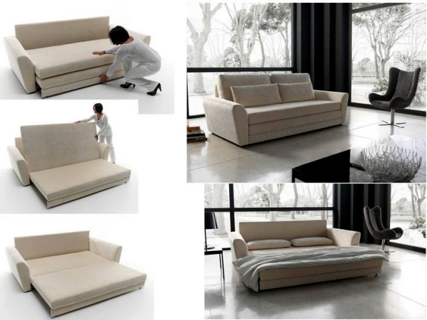 bulky sofa bed like a good alternative to the big bed