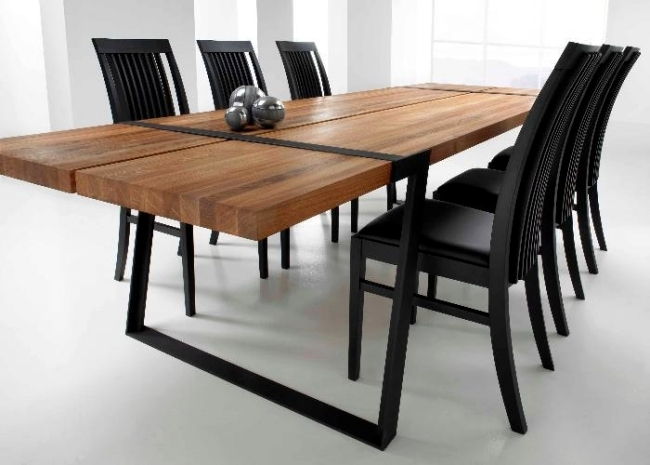 Dining Tables In Solid Wood And High Quality Modern Style Room