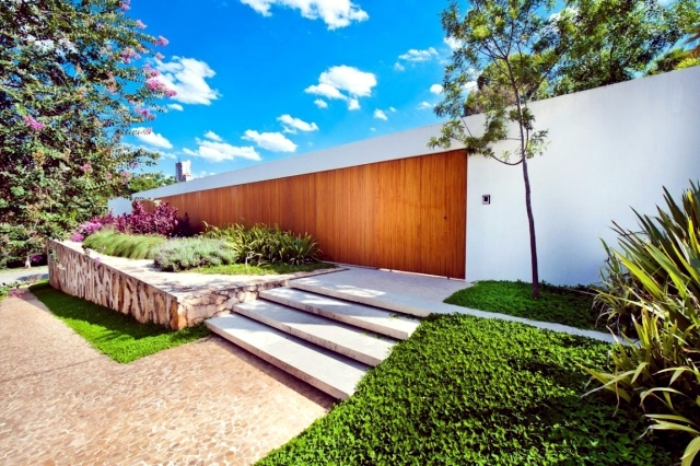 A modern home offers the freedom and solitude