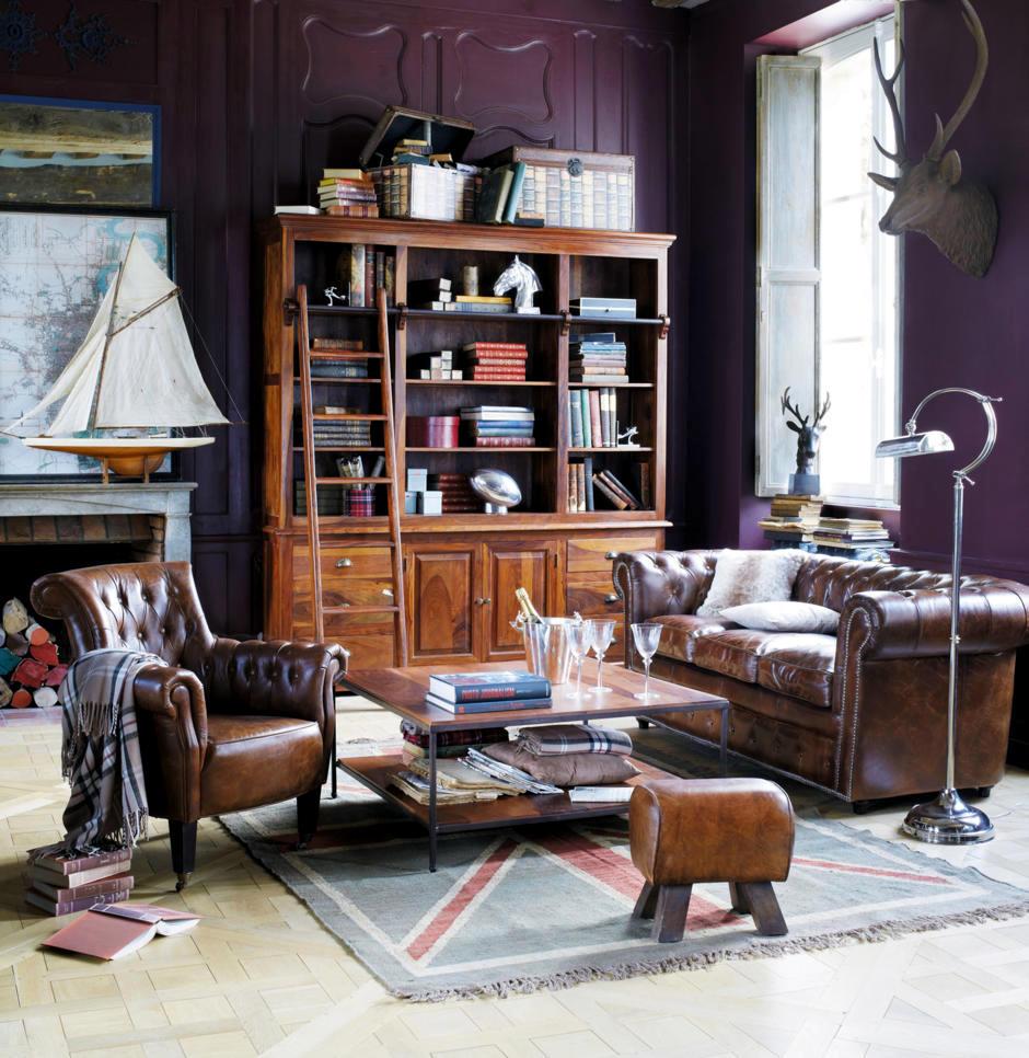 ease in british style | interior design ideas - ofdesign