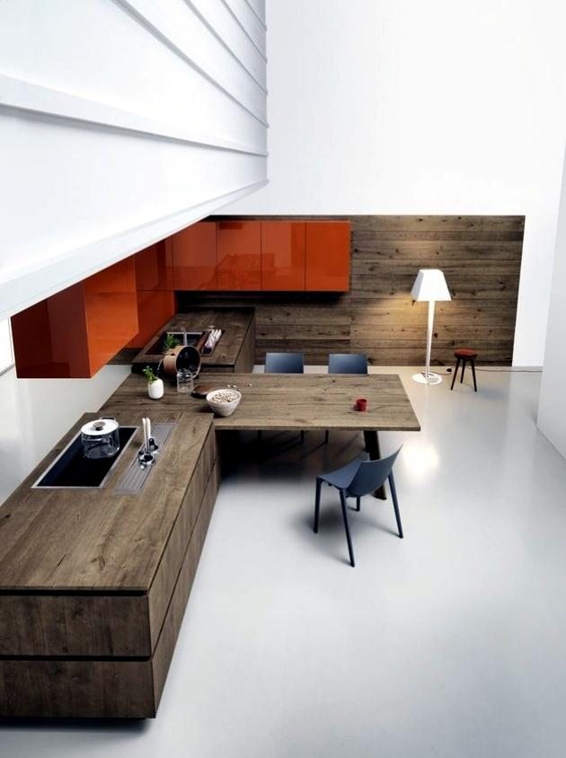 Modern Kitchen Design by Cesar convince understated elegance