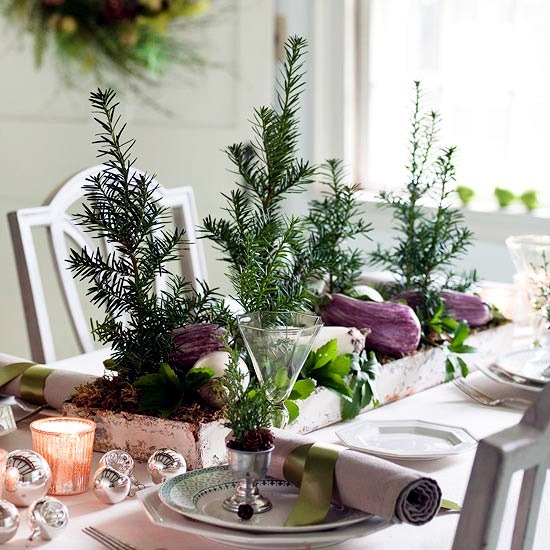 Christmas Craft Idea for decorating the Christmas table bit