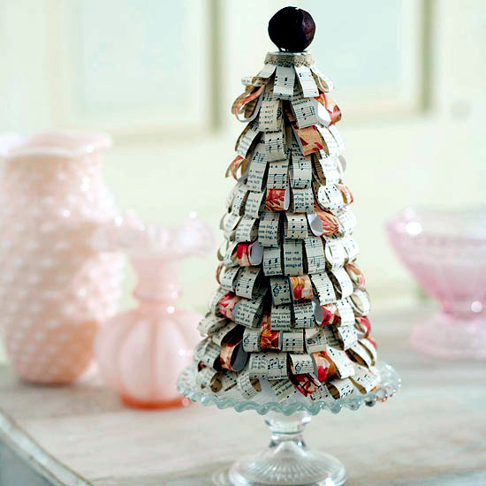 Christmas Craft Idea For Decorating The Table