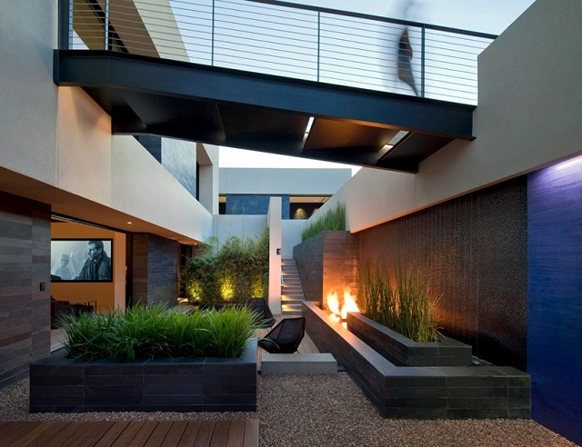 TresARCA-modern house with pool on the outskirts of Las Vegas