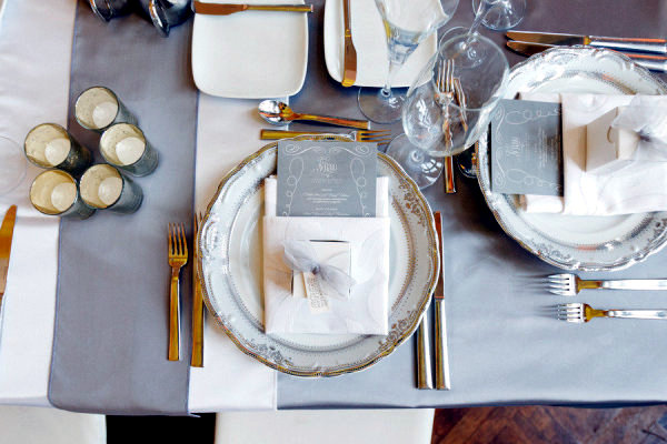 The table to the right - rules and decorating tips for towels