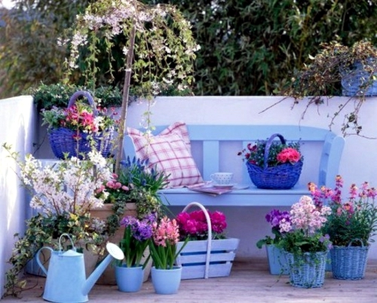 Develop Bench - 23 ideas for the garden