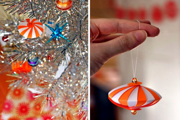 Tree decorations christmas paper craft itself - 22 creative ideas