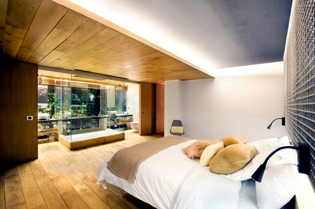 Idea for home renovation - Add green accents modern bedroom