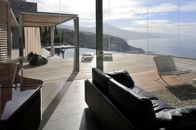 Luxury Villa Jardin del Sol concrete with beautiful sea views