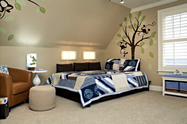The duvet cover - the quilt as an accent in the room