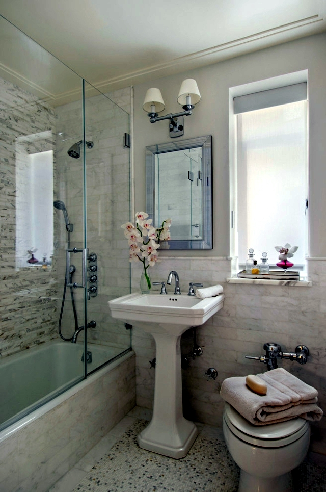 Placing small bathroom - these tips to reduce the space