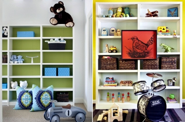 A modern, colorful kids - 20 creative ideas