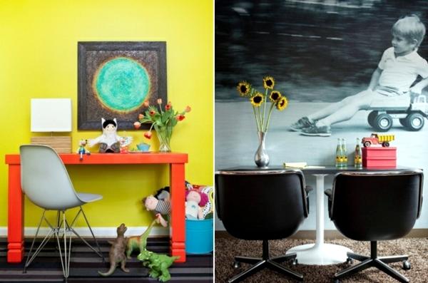 A modern, colorful kids - 20 creative ideas
