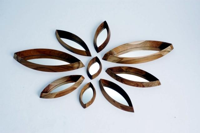 design wall mirror, wooden play Daisy inspiration