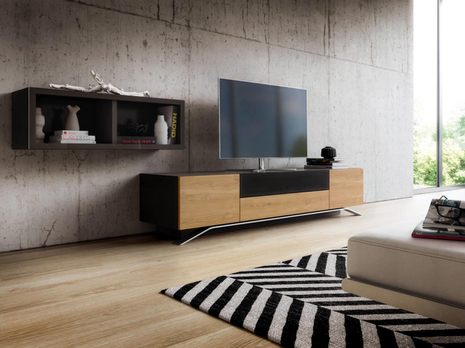 Equipment In Front Of Minimalist Concrete Wall Interior
