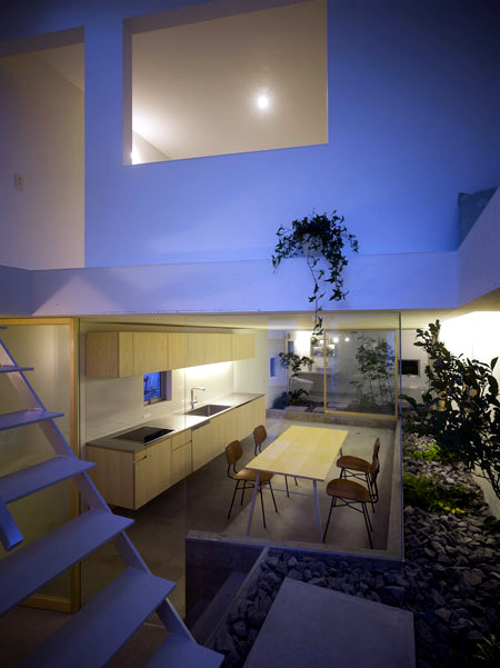 "A ""garden house"" - idea of ​​modern design in Japan"