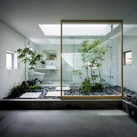 "A ""garden house"" - idea of modern design in Japan"