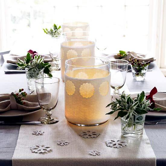 ideas to decorate the christmas table quick easy and