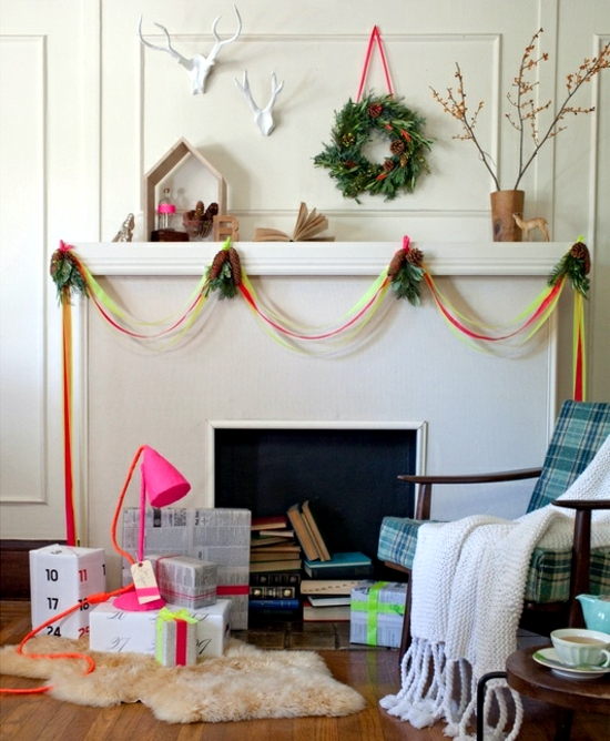 Christmas Decoration Ideas With Ribbon : Merry christmas decoration craft ideas with ribbon