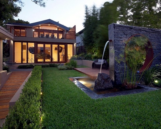 Water features in the garden - 75 ideas for the design of water oasis