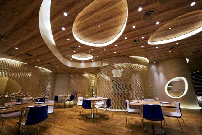 25 suspended ceiling ideas wood – Design Contemporary pendant ...