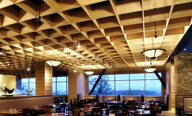 25 Suspended Ceiling Ideas Wood Design Contemporary