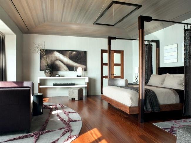 25 suspended ceiling ideas wood - Design Contemporary pendant