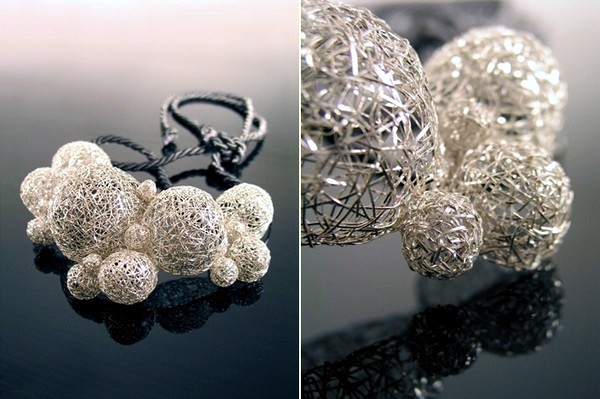 The collection of elegant women jewelry inspired by nature