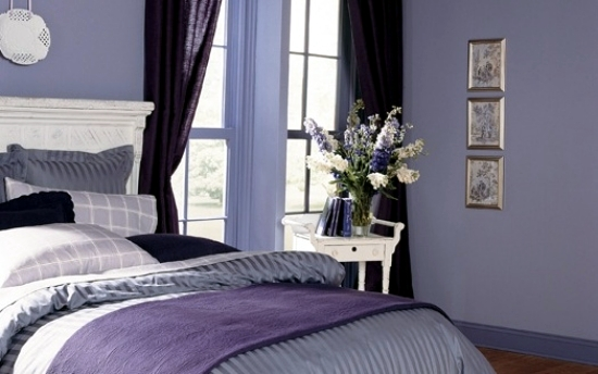 Bedroom design purple lilac 20 ideas for interior - Lilac color paint bedroom ...