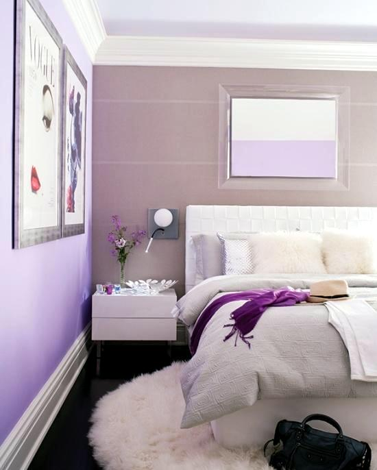 bedroom design purple lilac 20 ideas for interior decoration 1 678