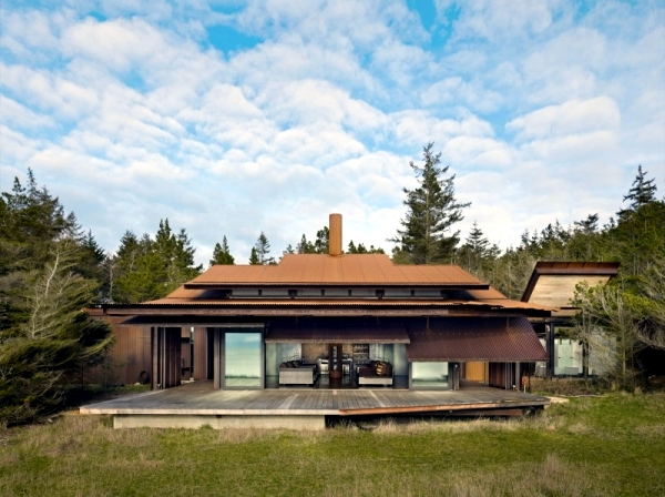 House Of Wood And Steel That Offers Live In Harmony With Nature Interior Design Ideas Ofdesign