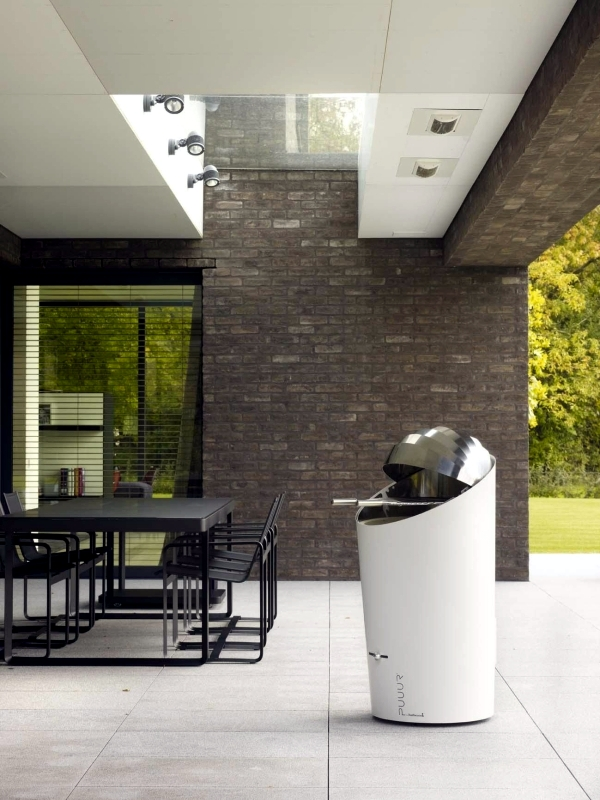 Designer outdoor grills with the culmination of modern design for the garden