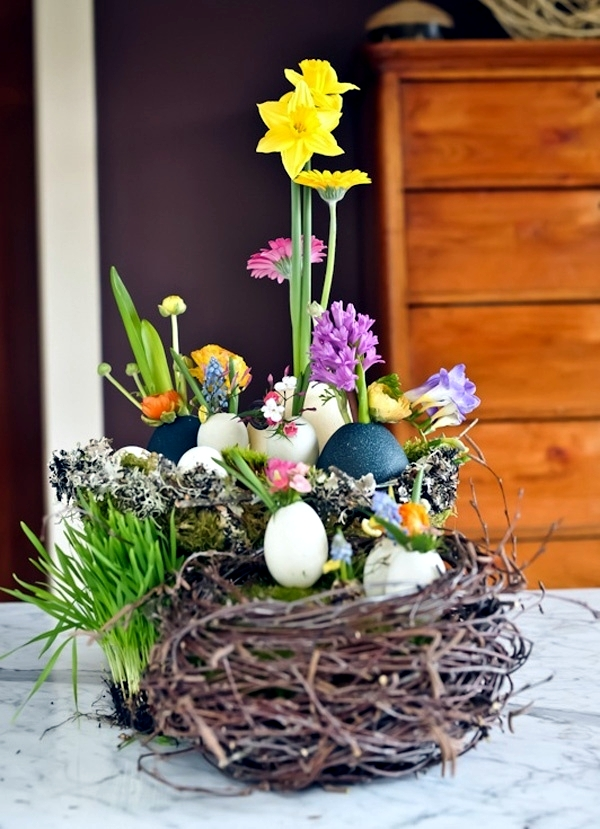 Easter decoration crafts - 25 ideas on how to implement your creativity
