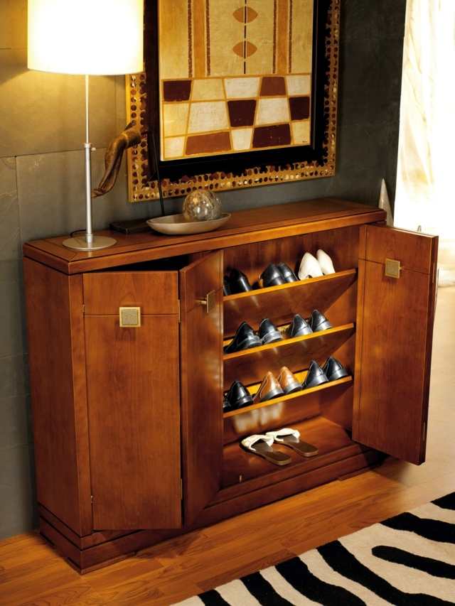 Shoe cabinet design - 15 ideas for industrial design trends 2015 residential