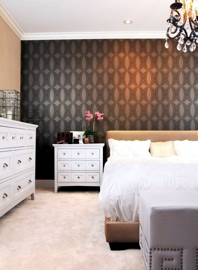 20 design ideas for an accent wall - painted in the fourth paper
