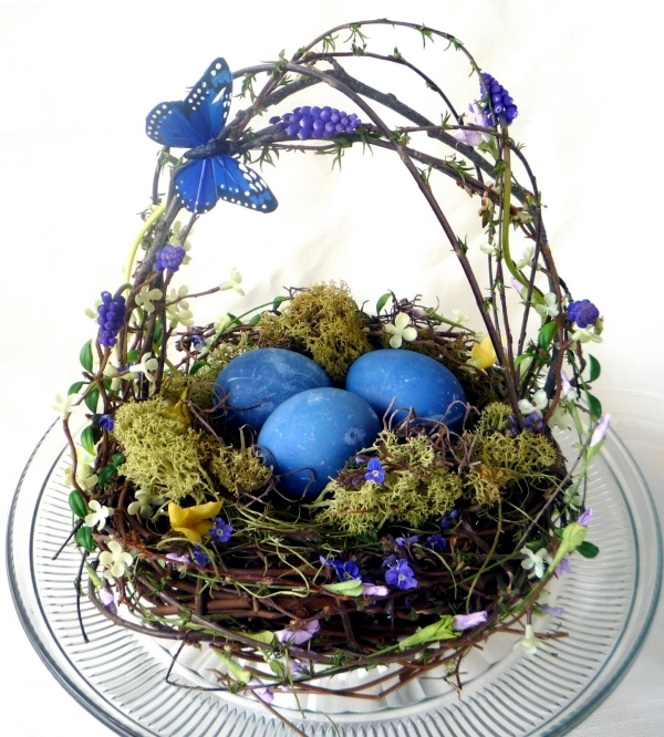 Easter basket crafts and even arrange 20 good ideas for easter easter is the feast awaited in which the whole family around the table and eat together quite tasty the table is decorated with festive for the occasion negle Image collections